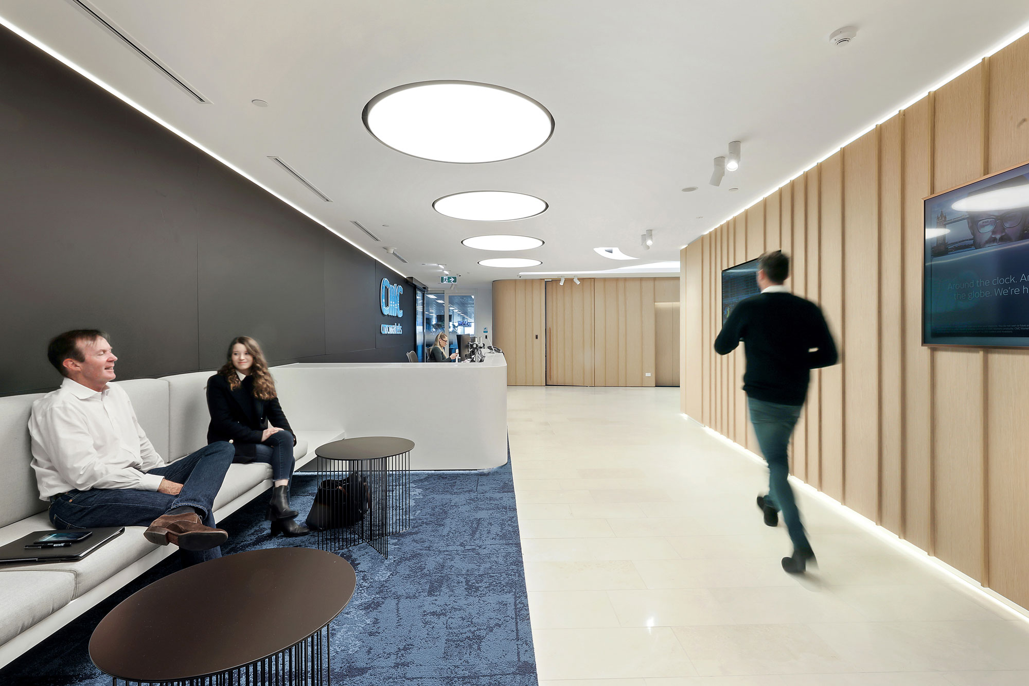 Cmc markets l20 3 international towers barangaroo high reception area 1 2000