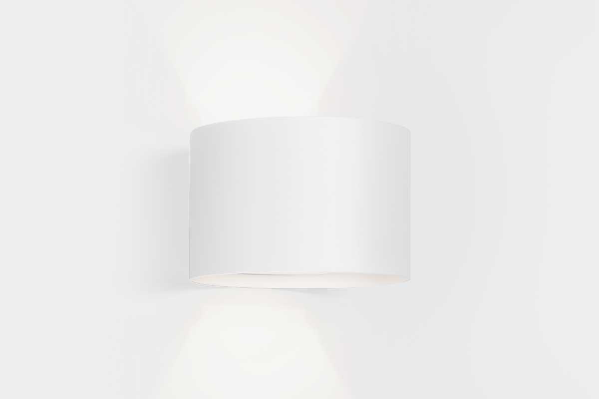 Product landing int wall light