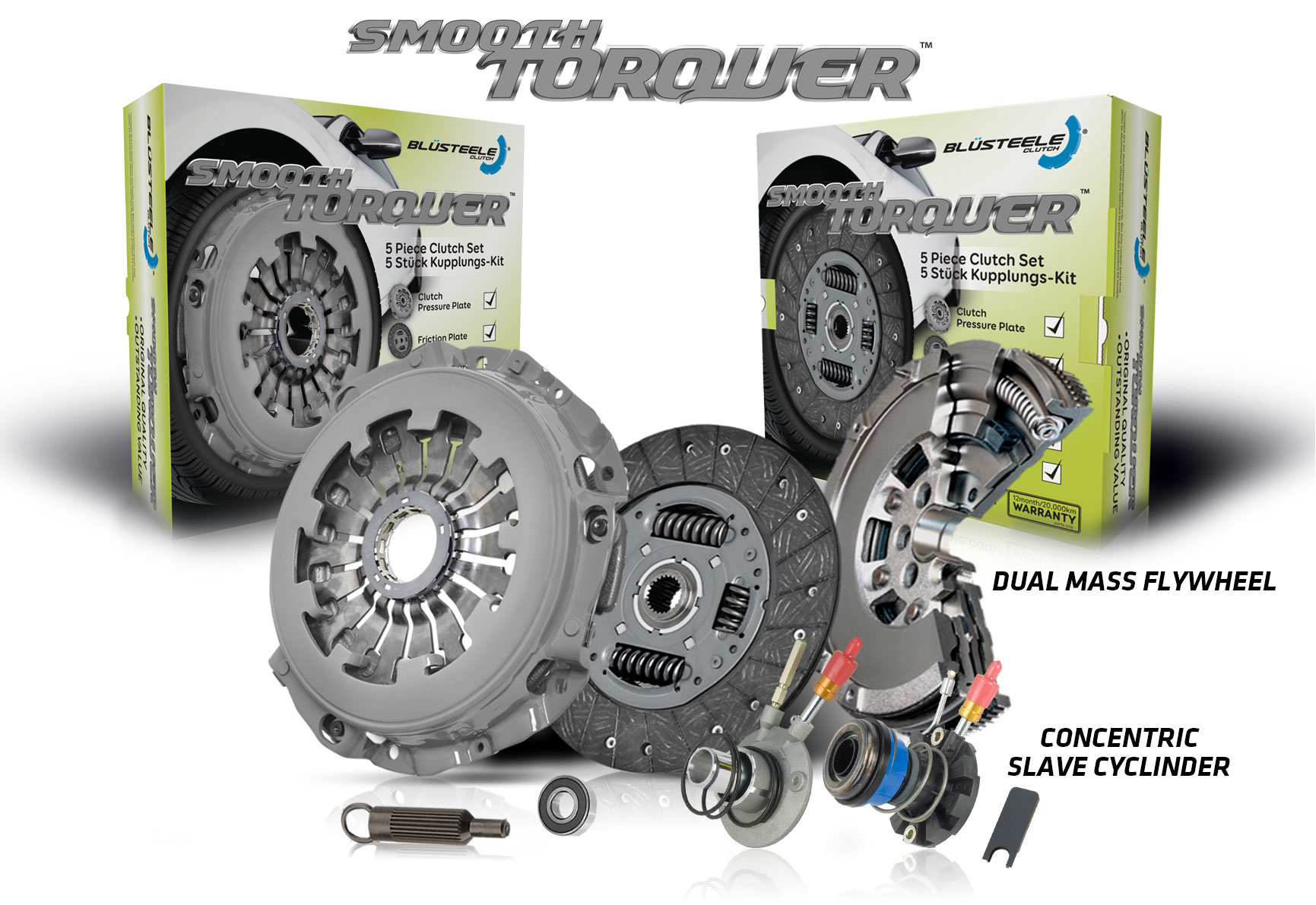 Image Is Loading Blusteele Dual Mass Flywheel Clutch Kit For Mazda