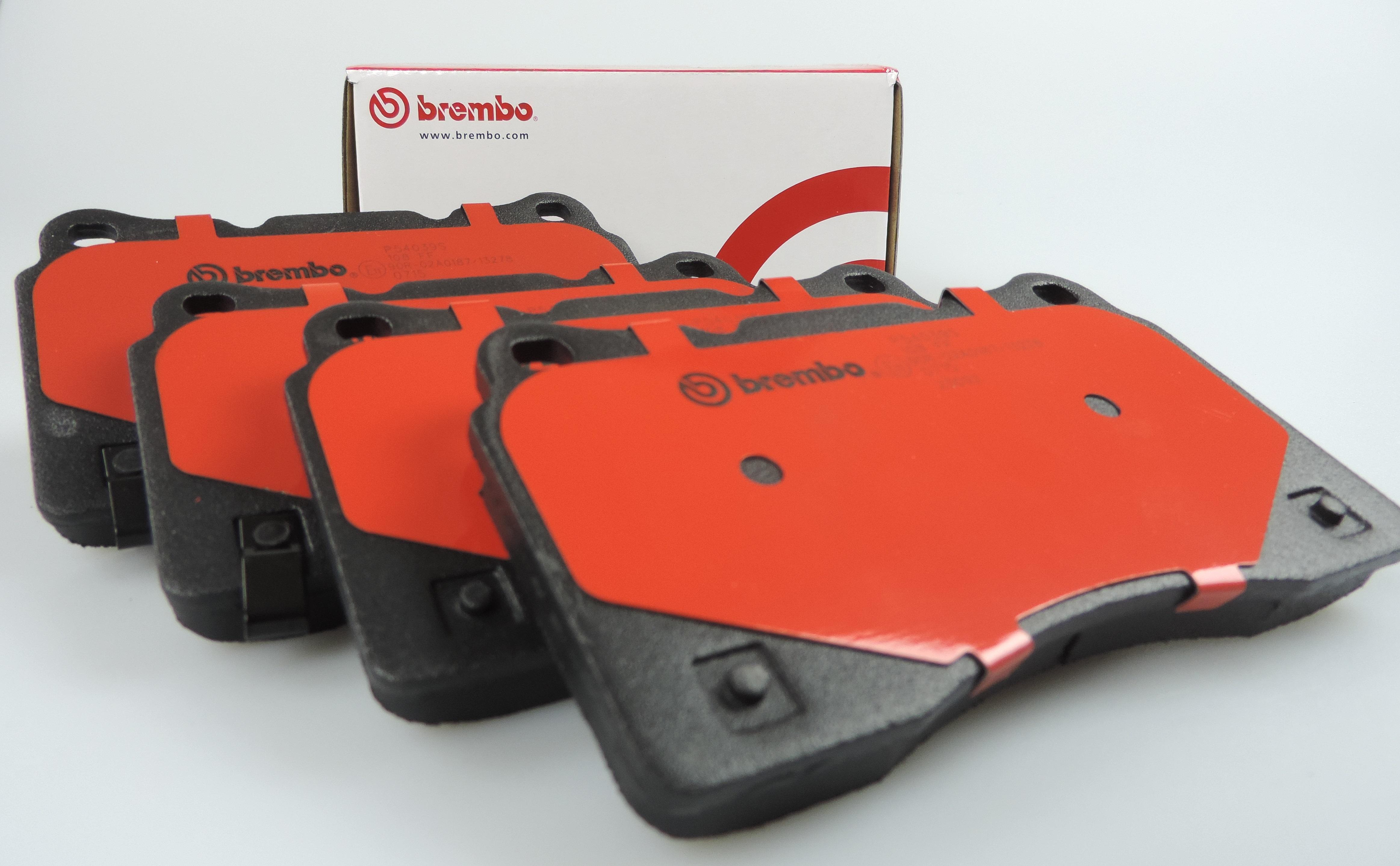 Brembo Brake Pads >> Genuine Brembo Heavy Duty Brake Pads For Nissan Navara D40 Spanish