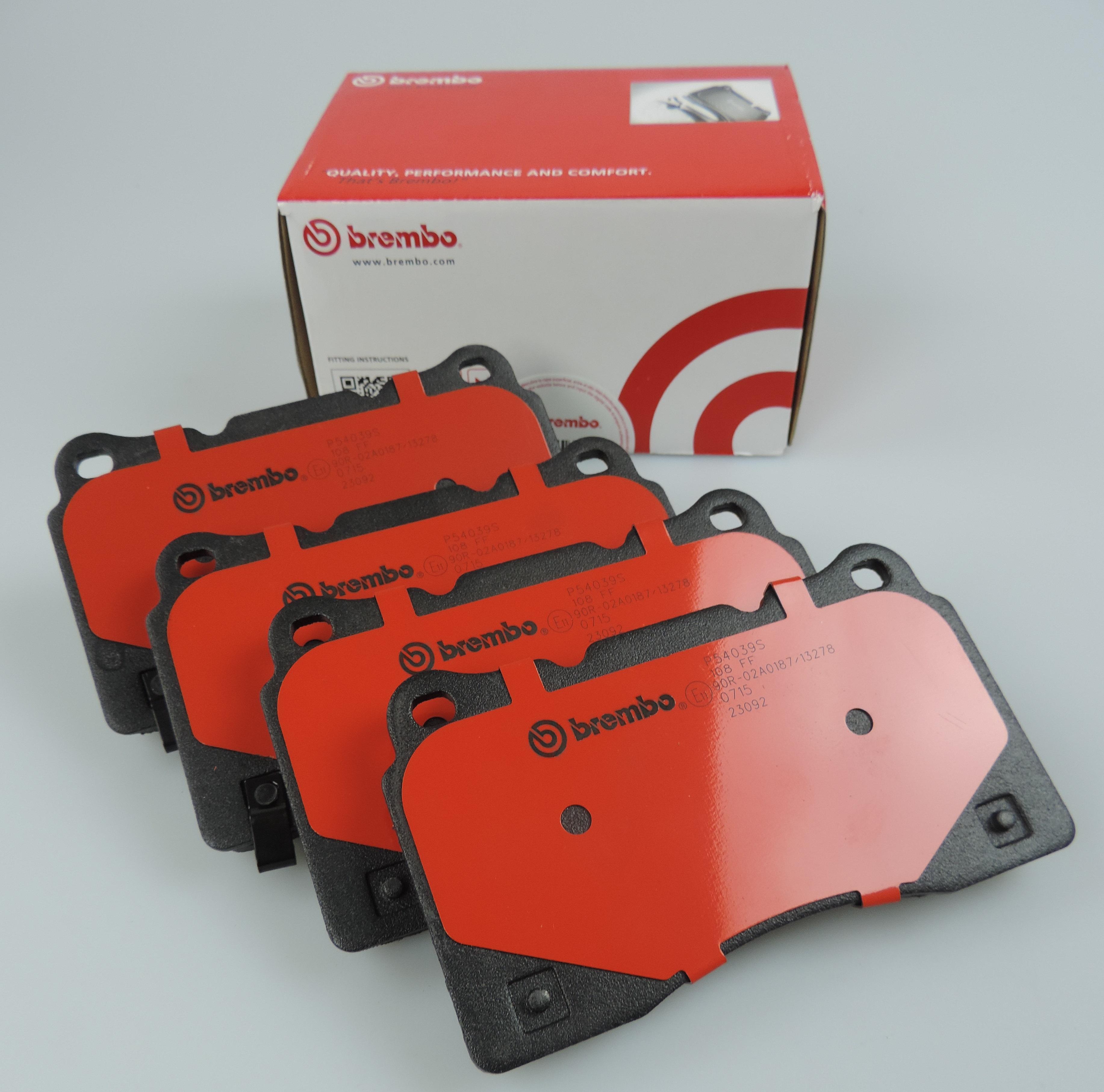 genuine BREMBO brake pads REAR for BMW X5 E53 X3 E83 DB1397