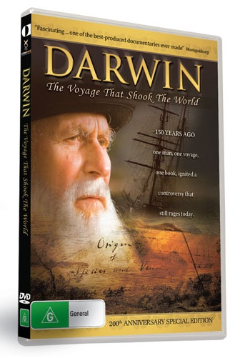 Darwin: The Voyage that Shook the World (DVD)