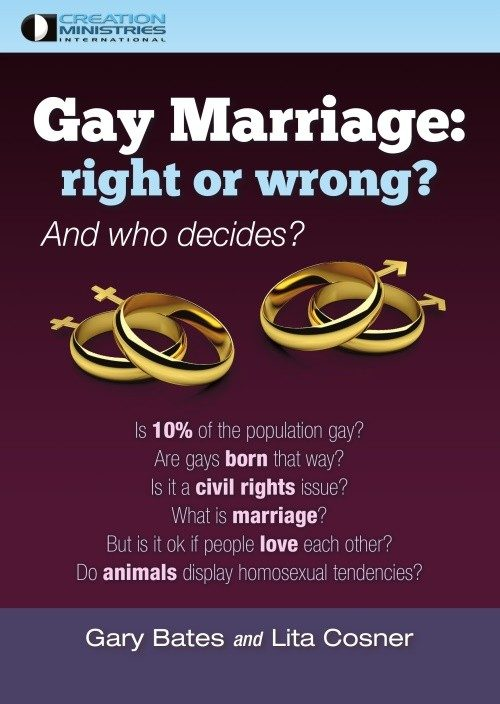 gay marriage right or wrong Same-sex 'marriage' is a about civil rights, not morality this is tantamount to affirming that civil rights have nothing to do with morality, which is not true.