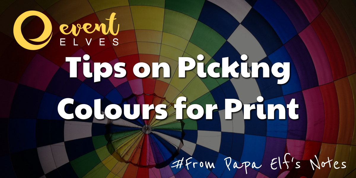 How to Pick Print Colours for Your Logo