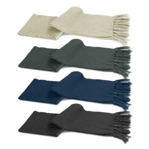 113612 – Nebraska Cable Knit Scarf