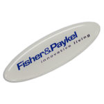 100135 – Resin Coated Labels 90 x 30mm Oval