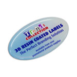 100136 – Resin Coated Labels 74 x 43mm Oval