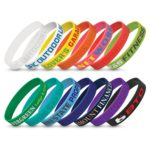 112805 – Silicone Wrist Band – Debossed