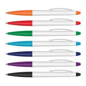 110097 – Spark Stylus Pen – White Barrel