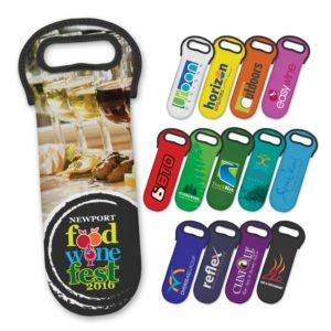 110498 – Neoprene Wine Cooler Bag – Full Colour