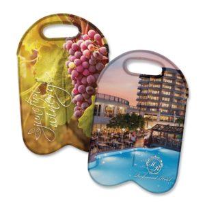 110499 – Neoprene Double Wine Cooler Bag – Full Colour