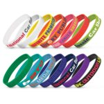 112806 – Silicone Wrist Band – Embossed