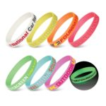 112807 – Silicone Wrist Band – Glow in the Dark