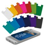 112924 – Silicone Phone Wallet – Full Colour