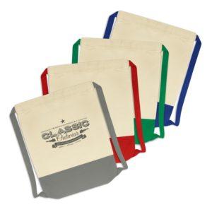 114422 – Reno Cotton Drawstring Backpack