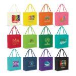 115324 – Monza Jute Tote Bag – Colour Match