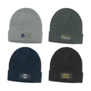 115716 – Everest Beanie with Patch