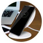116029 – Phaser Wireless Charging Stand – Round