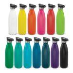 116525 – Mirage Powder Coated Vacuum Bottle – Push Button Lid