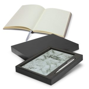 116692 – Marble Notebook and Pen Gift Set