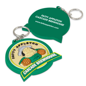 117205 – PVC Key Ring Large – One Side Moulded