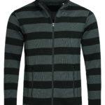 ST5090 – Men's Active Striped Fleece Jacket