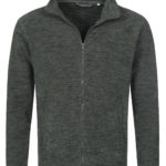 ST5060 – Men's Active Melange Fleece Jacket