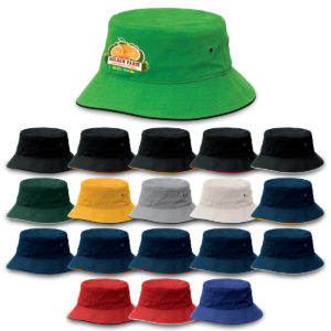 4007 – Sandwich Brim Bucket Hat