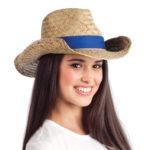 3969 – Cowboy Straw Hat