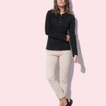 ST9580 – Women's Sharon Henley Long Sleeve