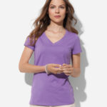 ST9310 – Women's Janet Organic V-neck