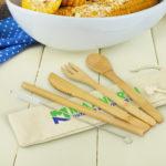 117633 – Bamboo Cutlery Set