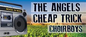 The Angels and Cheap Trick 2015 Australian Tour