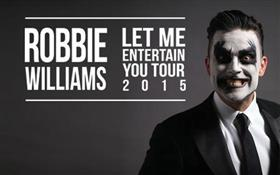 Robbie Williams 'Let Me Entertain You' Australian...