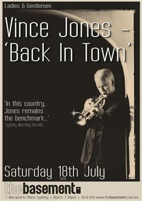 Vince Jones - 'Back In Town'