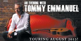 Tommy Emmanuel Australian Tour 2015