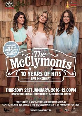 The McClymonts '10 Years of Hits' Live in Concert