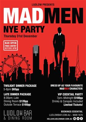 Mad Men NYE Party