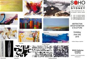 Abstractions Group Exhibition