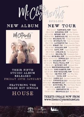 The McClymonts 'The Endless' Australian Tour 2017