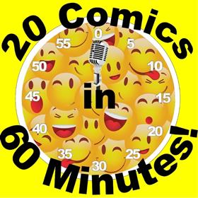 20 Comics in 60 Minutes Farewell Laugh-A-Thon
