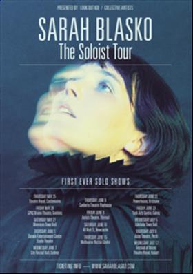 Sarah Blasko 'The Soloist' National Tour 2017
