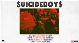 $UICIDEBOY$ Australian Tour 2017