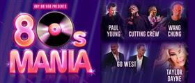 80s Mania Australian Tour 2017