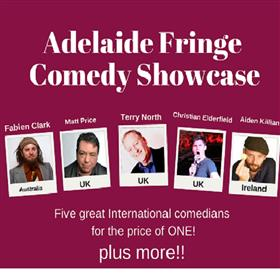 Adelaide Fringe Comedy Showcase - Adelaide Fringe...