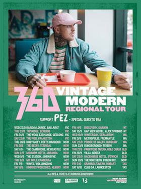 360 w/ PEZ - Vintage Modern Regional Tour – Coffs...