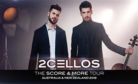 2CELLOS 'The Score and More' Australian Tour 2018