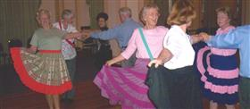 50 Plus: Square dancing