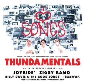 Thundamentals Australian Tour 2018