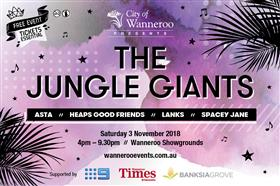 City of Wanneroo Presents: The Jungle Giants